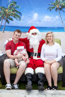 Pictures with Aloha Santa 2016